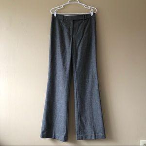 Michael Kors Gray Wool Straight Pants Size 8